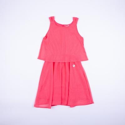 Vestido Niña Rosa