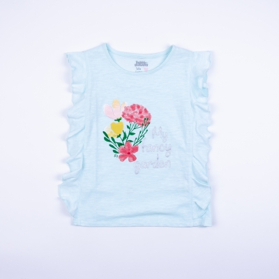 Polera Niña Fancy Garden